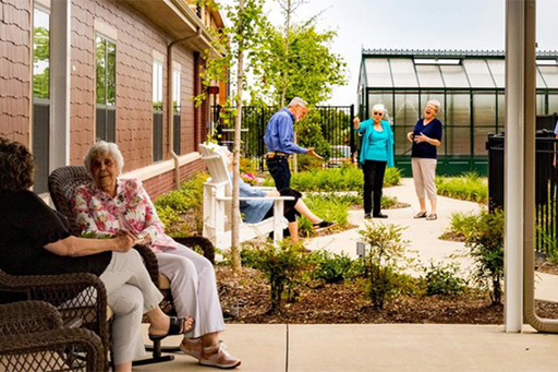 Tribute's Outdoor Activities Provide Health Benefits for Your Loved One