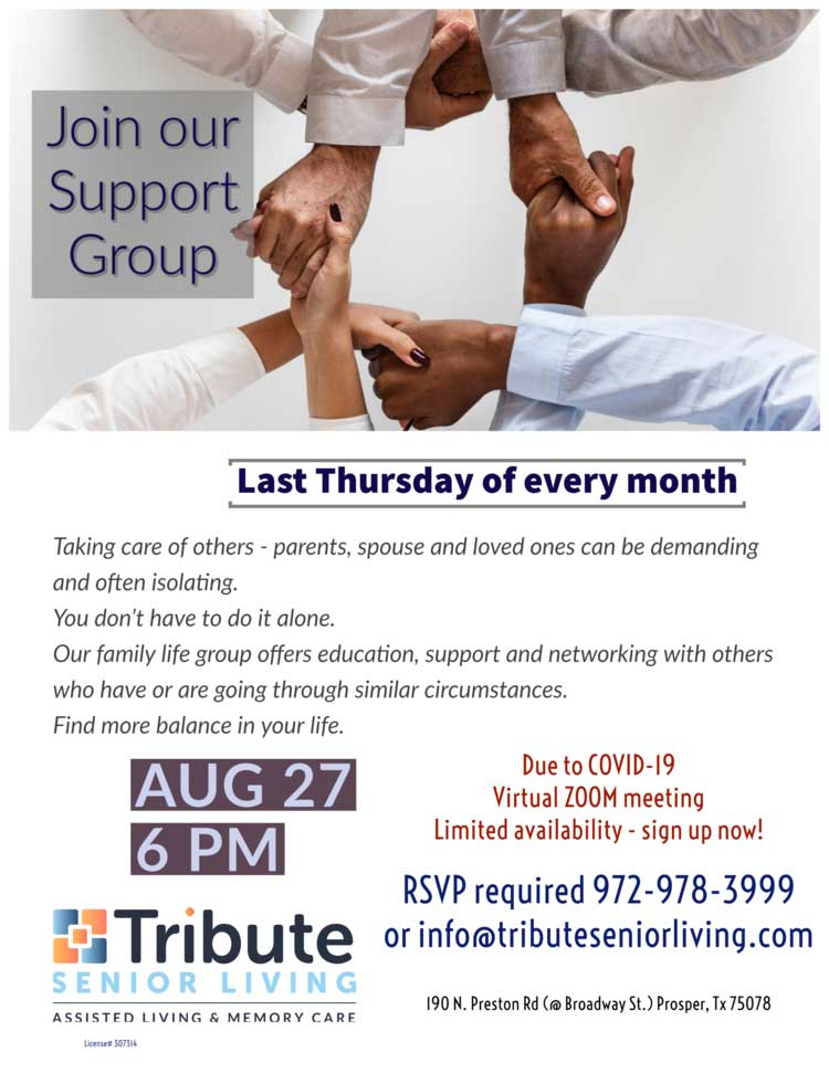 family and friends support group